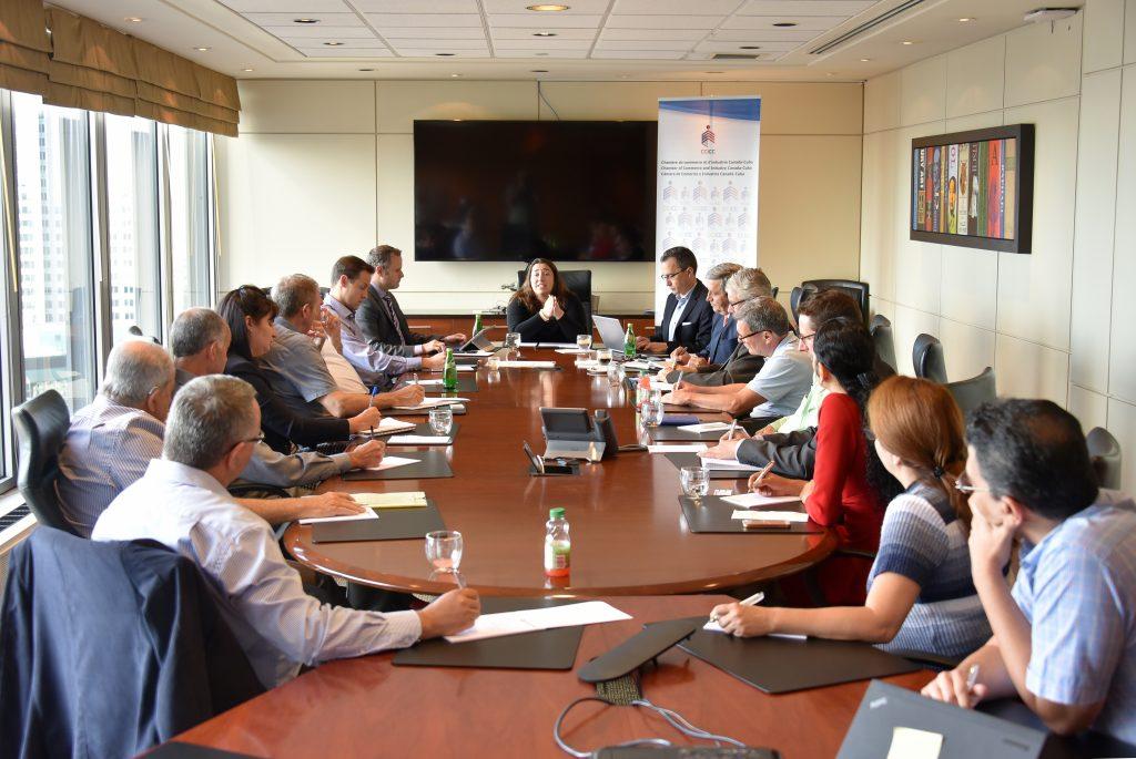 2018-07-11 Table de concertation sur le secteur financier – Montréal