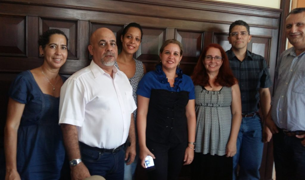 Meeting between Casa Obrador and the Cuban Book Institute in Havana