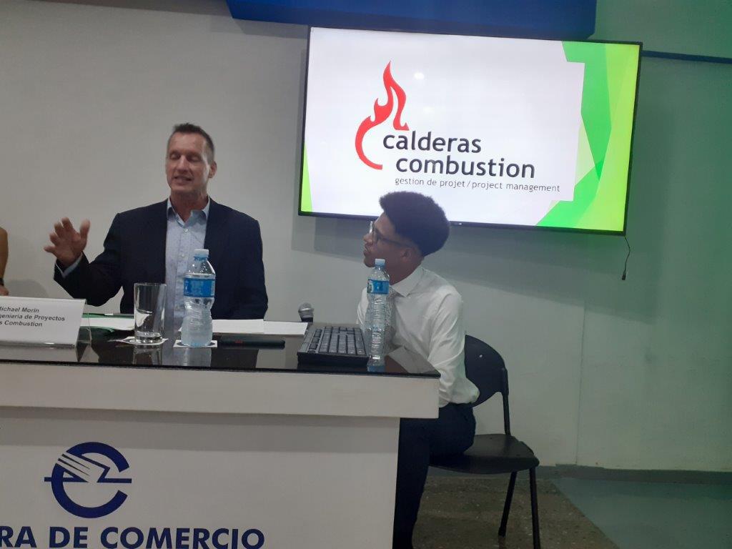 Conférence sur les chaudières à combustion à La Havane