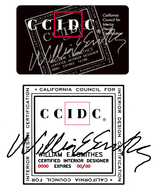 CCIDC Card Digital Stamp