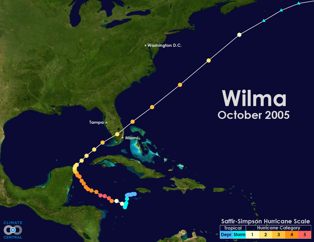 Hurricane Tracks 10 Recent Major Storms To Hit The U S