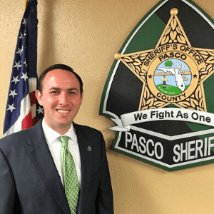 Chase Daniels, Assistant Executive Director of the Pasco Sheriff's Office