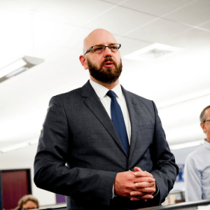 Joel Christopher, Executive Editor at the Knoxville News Sentinel