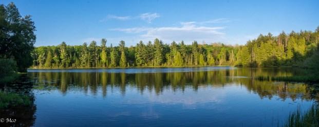 Sunset at Little Beaver Lake