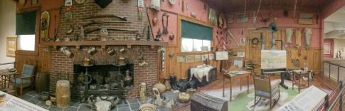 Remington's work studio