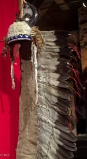 Chief's war bonnet