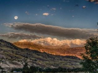 Sunrise - Moonset