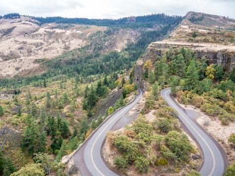 View from Rowena Crest