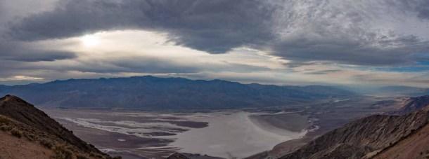 Dante's View overlooking Death Valley