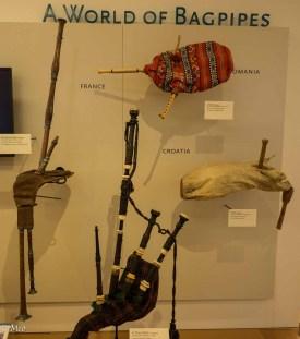 Note: Scottish Highland Pipes (bottom)