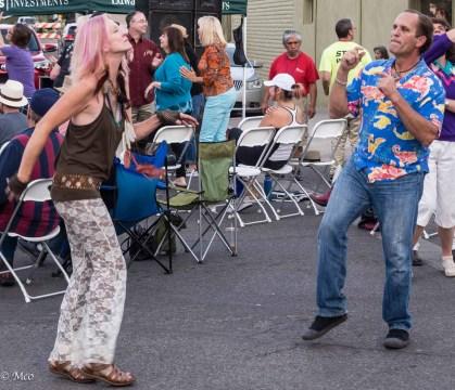 Dancing hippies
