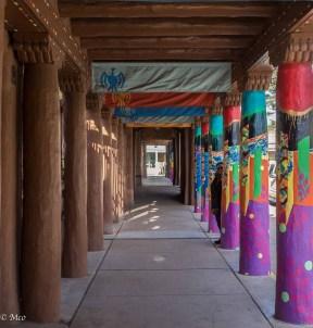 Museum walkway