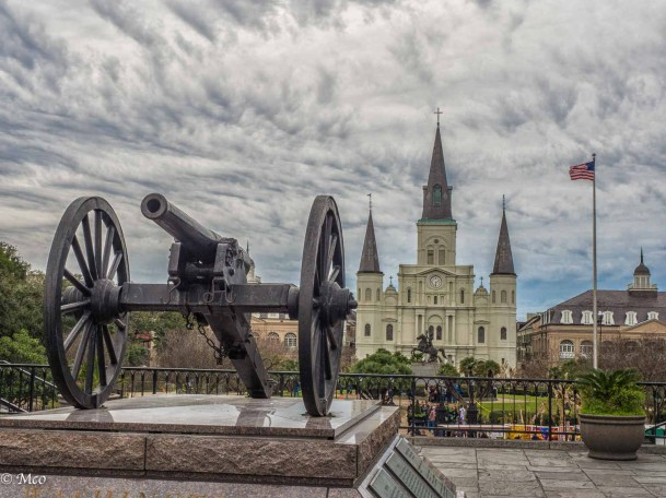 Cathedral and Jackson Square