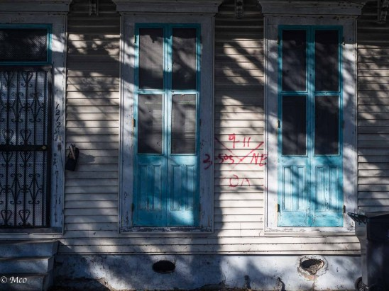 Katrina Inspection codes still on some of the homes