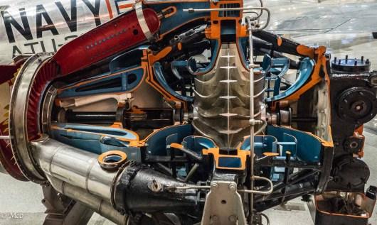 General Electric J33 Turbojet - 1947