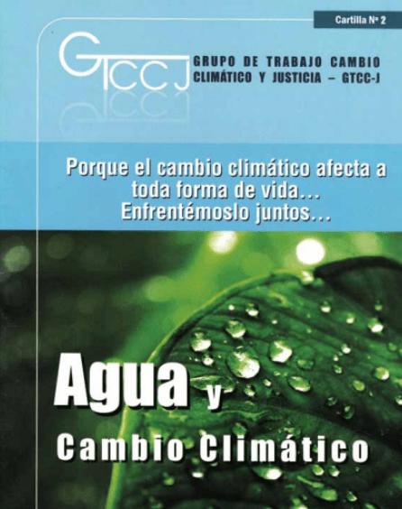 Agua y cambio climático