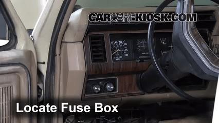 2005 ford f 250 fuse box diagram shunt trip wiring square d interior location: 1983-1986 f-250 - 1984 6.9l v8 diesel standard cab ...
