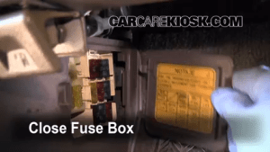 Interior Fuse Box Location: 19901995 Toyota 4Runner  1994 Toyota 4Runner SR5 30L V6