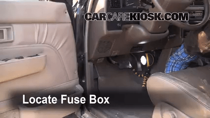 2011 Cts Heated Seat Wiring Diagram Interior Fuse Box Location 1990 1995 Toyota 4runner