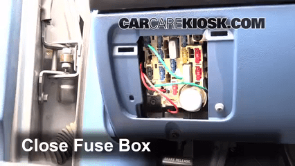 2001 ford f350 fuse box diagram vagus nerve interior location: 1990-1997 f-250 - 1995 xl 7.5l v8 standard cab ...