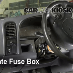 Nissan Pathfinder Fuse Box Diagram Wheel And Axle Interior Location: 1986-1997 Pickup - 1995 Xe 3.0l V6 Extended Cab ...