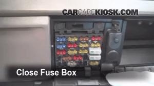 Interior Fuse Box Location: 19901996 Oldsmobile Cutlass