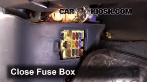 Interior Fuse Box Location: 19931998 Toyota T100  1996