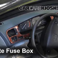 1993 Honda Accord Parts Diagram Cpu Wiring Interior Fuse Box Location: 1994-1997 - 1997 Lx 2.2l 4 Cyl. Sedan (4 Door)