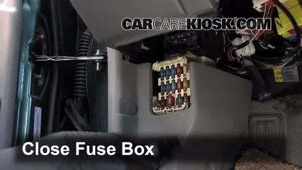 1997 Mercury Cougar Fuse Box Diagram Control De Fusible Interior En Ford Escort 1997 2003