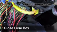Interior Fuse Box Location: 1997-2005 Buick Park Avenue ...