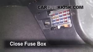 Interior Fuse Box Location: 19931998 Jeep Grand Cherokee