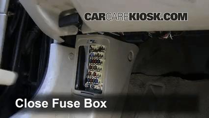 1996 Jeep Cherokee Fuse Panel Diagram 1998 2002 Mazda 626 Interior Fuse Check 1998 Mazda 626