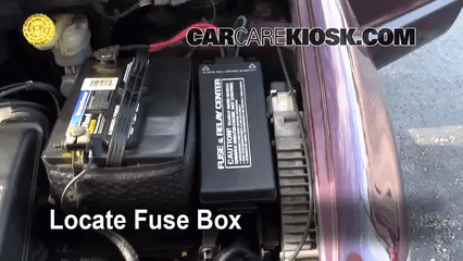 Ford Fusion Fuse Box Lid Replace A Fuse 1996 2000 Dodge Caravan 1999 Dodge
