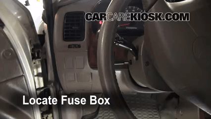 2014 Toyota Tundra Fuse Box Diagram Interior Fuse Box Location 1996 2002 Toyota 4runner