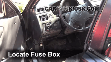 2002 honda crv fuse box diagram keystone wiring interior location: 1997-2001 cr-v - 2000 ex 2.0l 4 cyl.