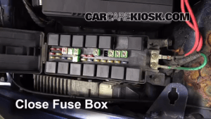 Replace a Fuse: 19962000 Plymouth Voyager  2000 Plymouth Voyager 33L V6