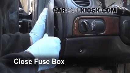 Pt Cruiser Fuse Box Wiring Diagram Interior Fuse Box Location 1999 2004 Chrysler 300m 1999