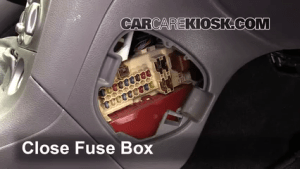 Interior Fuse Box Location: 19901993 Toyota Celica  1992 Toyota Celica GT 22L 4 Cyl Coupe