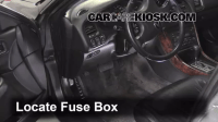 Interior Fuse Box Location: 1999-2003 Acura TL - 2003 ...