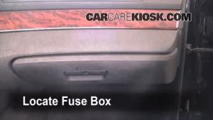 Interior Fuse Box Location: 19972003 BMW 530i  2002 BMW