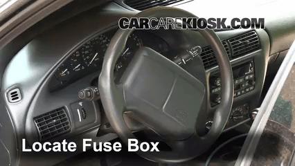 2001 Saturn Sl1 Wiring Diagram Interior Fuse Box Location 1995 2005 Chevrolet Cavalier