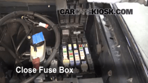 Replace a Fuse: 20022005 Ford Explorer  2002 Ford