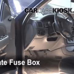 1998 Ford Explorer Sport Radio Wiring Diagram Smeg Double Oven Interior Fuse Box Location: 2002-2005 - 2002 Xlt 4.0l V6