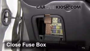 Interior Fuse Box Location: 20002004 Ford Focus  2002 Ford Focus ZX3 20L 4 Cyl
