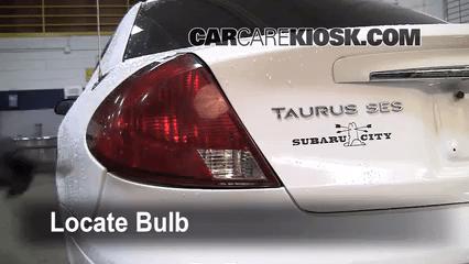 1996 Ford Taurus Fuse Box Tail Light Change 1996 1999 Mercury Sable 1999 Mercury