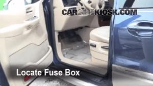 Interior Fuse Box Location: 19992003 Ford Windstar  2001 Ford Windstar SE 38L V6