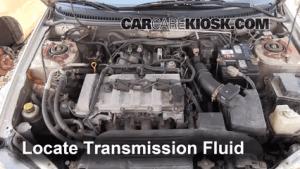 Transmission Fluid Level Check Mazda Protege (19992003