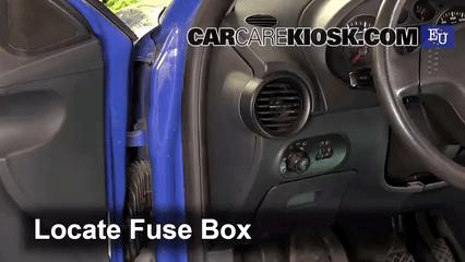 2013 Volkswagen Beetle Fuse Box Interior Fuse Box Location 2002 2008 Seat Ibiza 2002
