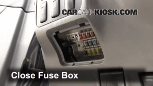 Interior Fuse Box Location: 20032009 Lexus GX470  2003 Lexus GX470 47L V8