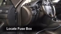Interior Fuse Box Location: 1998-2004 Audi A6 - 2004 Audi ...